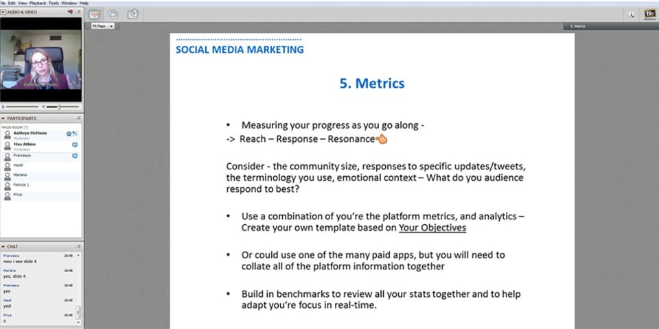 Image of online course Social Media Marketing