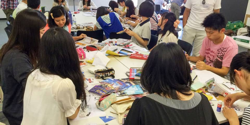 Osaka Students Working