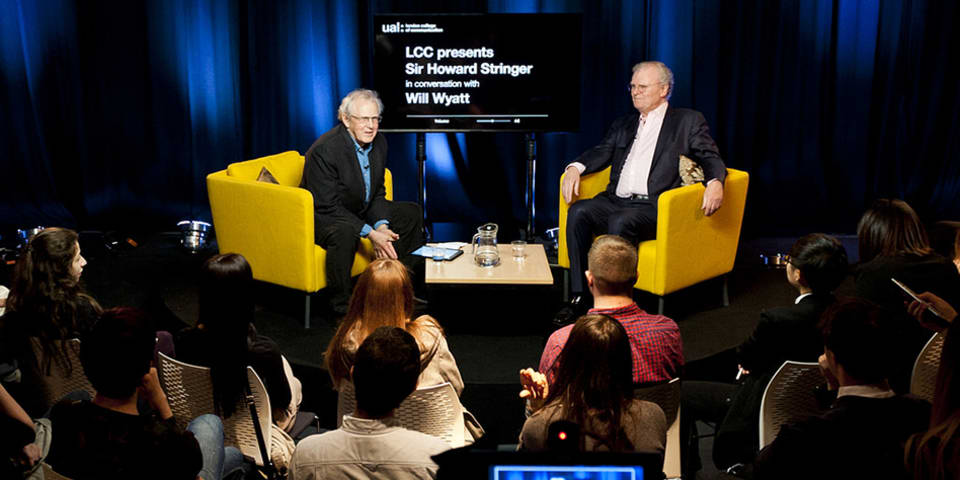 LCC presents Sir Howard Stringer in conversation with Will Wyatt