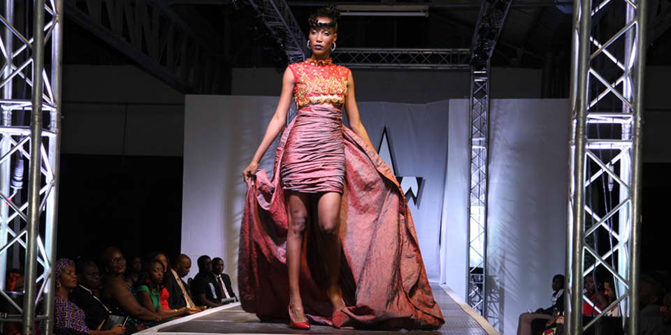 Marie-France Idikayi, a graduate of LCC's BA (Hons) Live Events and Television course, has established a global showcase for African fashion in the Democratic Republic of Congo by founding Congo Fashion Week.