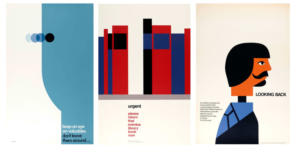 Tom Eckersley collection, London College of Communication