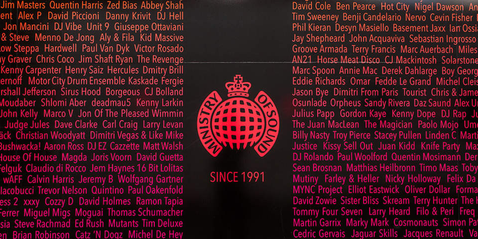Image of the exterior of Ministry of Sound.