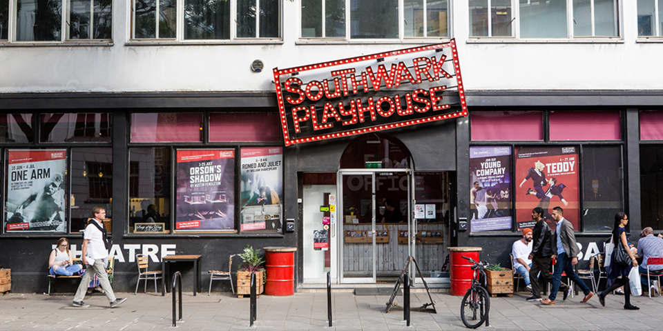 Image of Southwark Playhouse and street