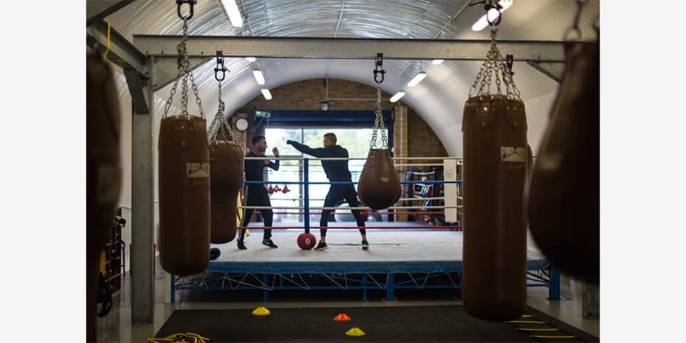 Photograph for London Community Boxing by Betta Zapata
