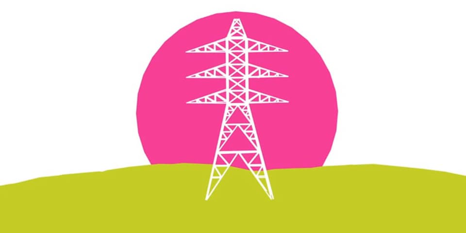 National Grid infographic, Sam Morley – BA (Hons) Graphic Media Design