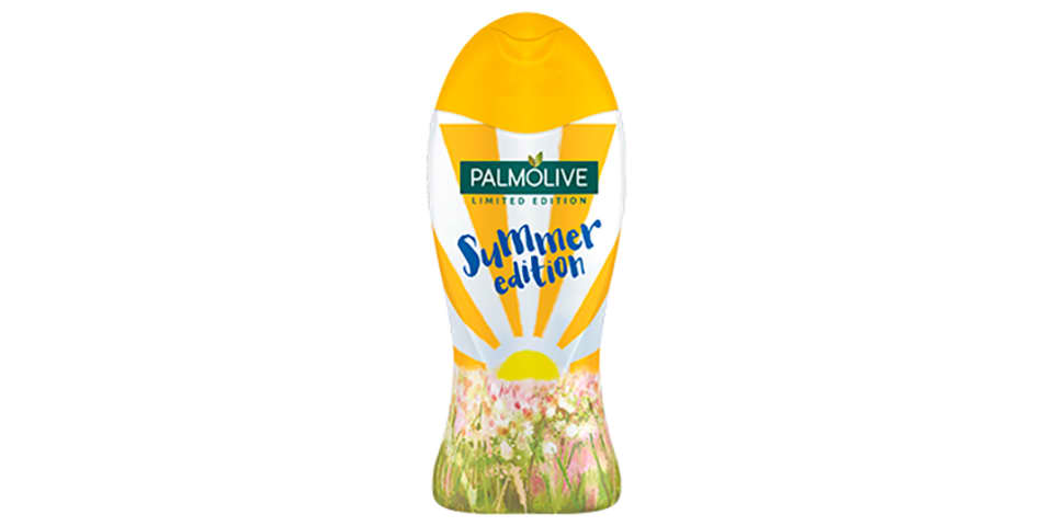 Design by students for Colgate Palmolive Limited Edition shower gel