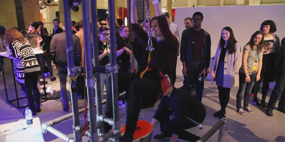 Image of BA (Hons) Interaction Design Arts at Science Museum Late, 2015.