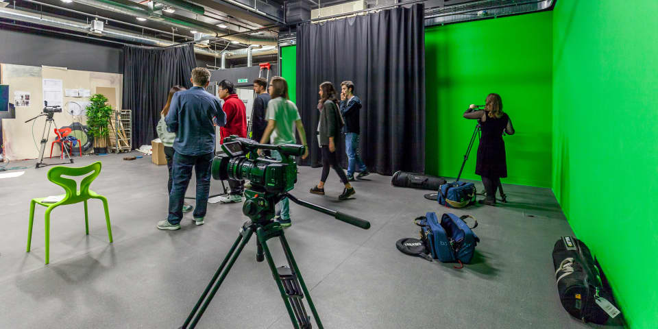Film and TV Studios at London College of Communication (LCC).