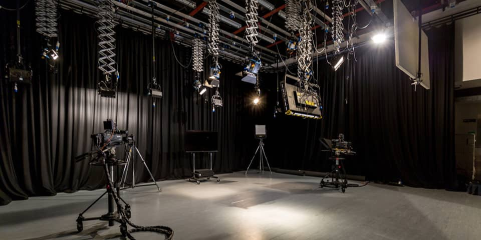 Film and TV Studio at London College of Communication (LCC).