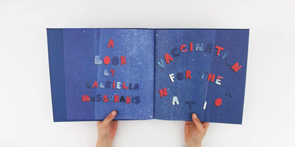 Image: Gabriella Mussurakis illustration book image 1, BA (Hons) Illustration and Visual Media