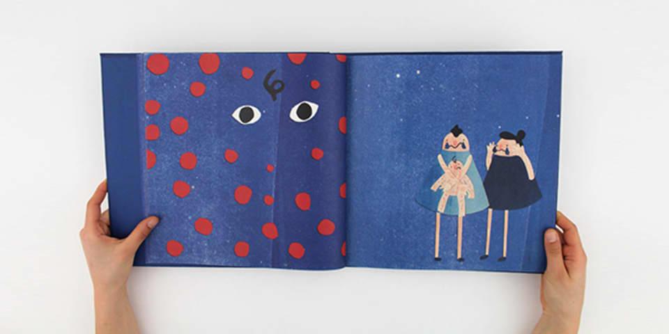 Image: Gabriella Mussurakis illustration book image 3, BA (Hons) Illustration and Visual Media
