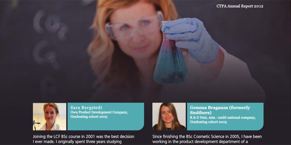 CTPA annual report screen shot