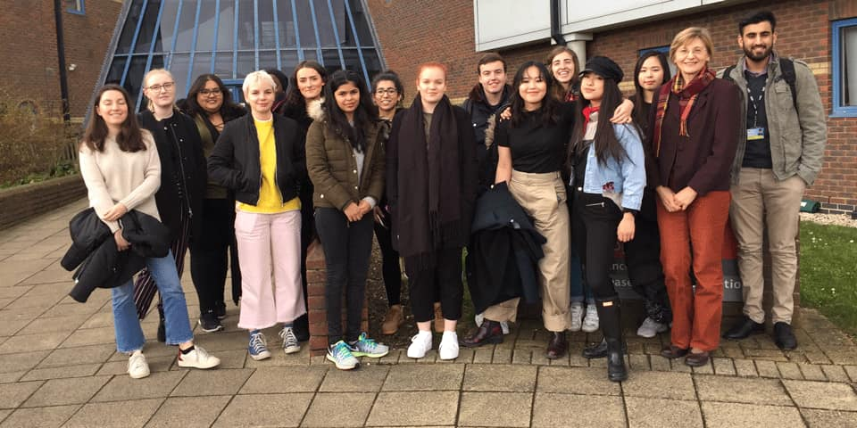 MSc students visit Sensory Dimensions Reading