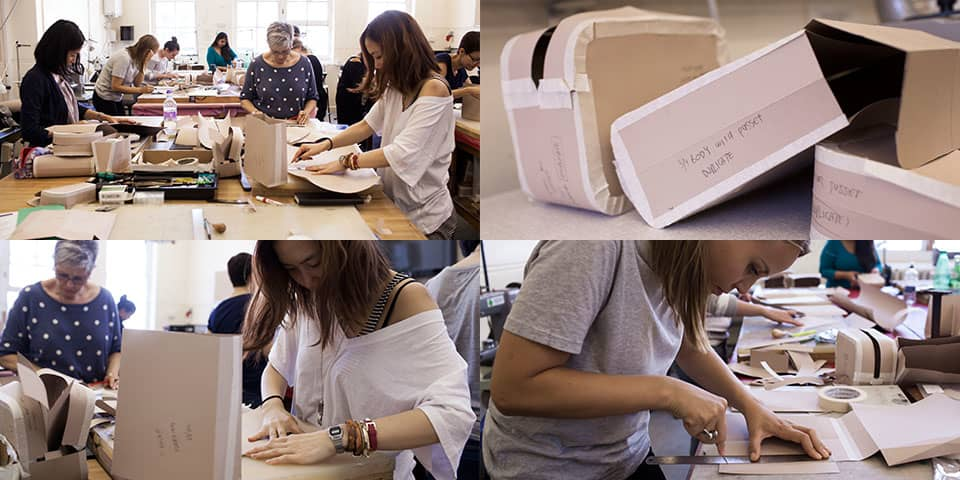 Bag pattern cutting course