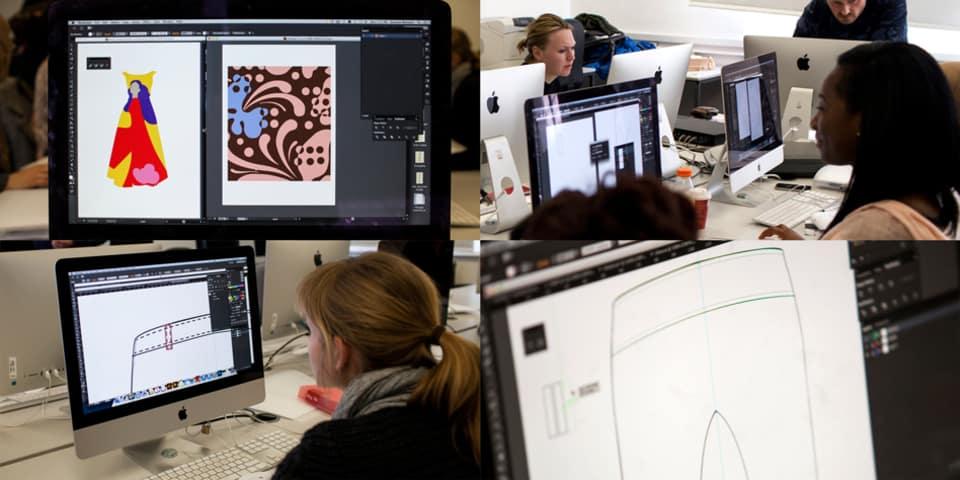 Adobe Illustrator for fashion course