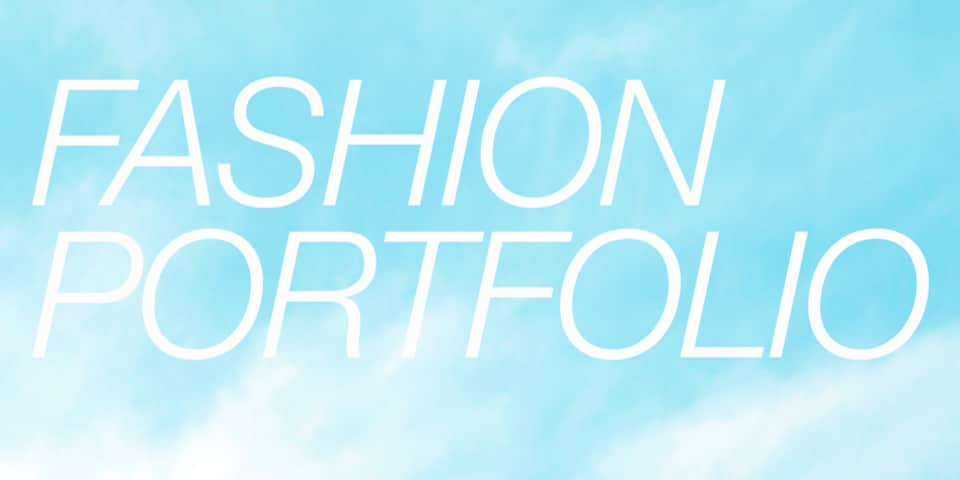 Fashion Portfolio Design and Development graphic