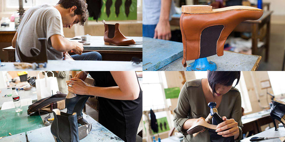 Shoe making: the boot