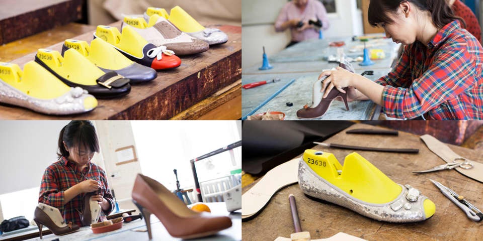 Shoe Making: student work