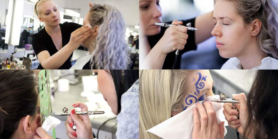 Airbrushing for Makeup Artists