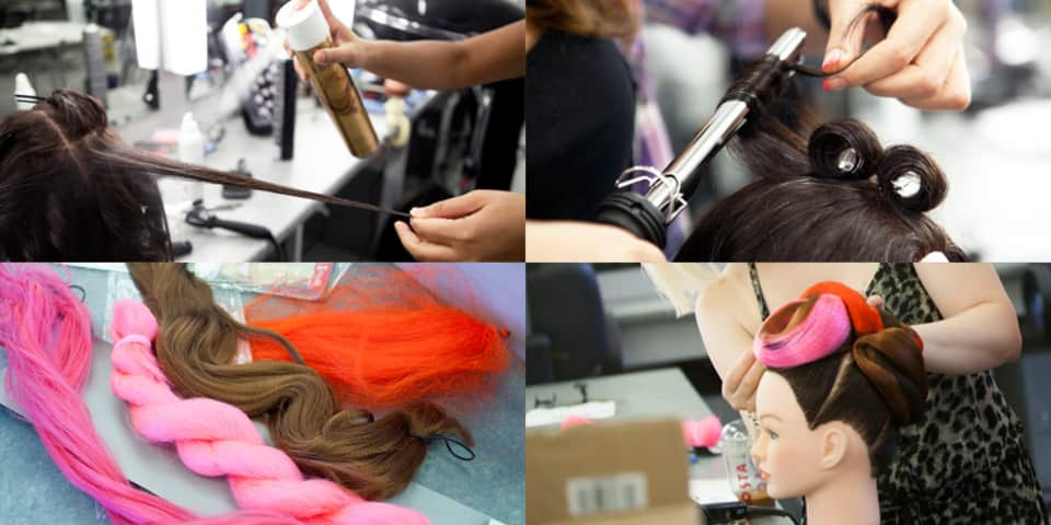 Hairstyling for Make-up Artists short course
