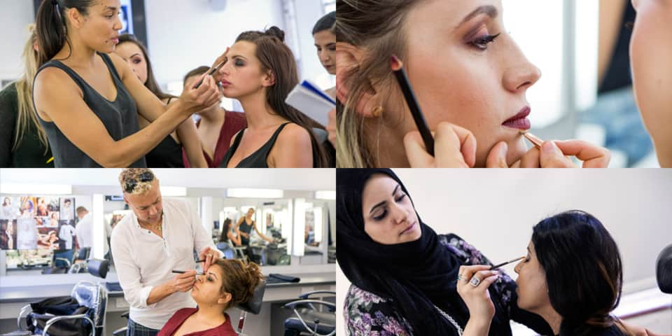 Students on Special Occasion and Bridal Makeup