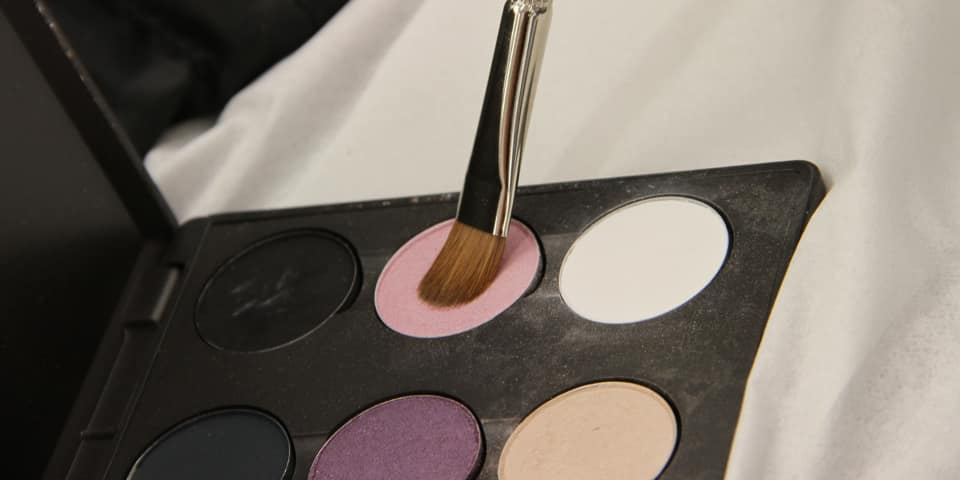 Makeup kit for fashion and editorial makeup course