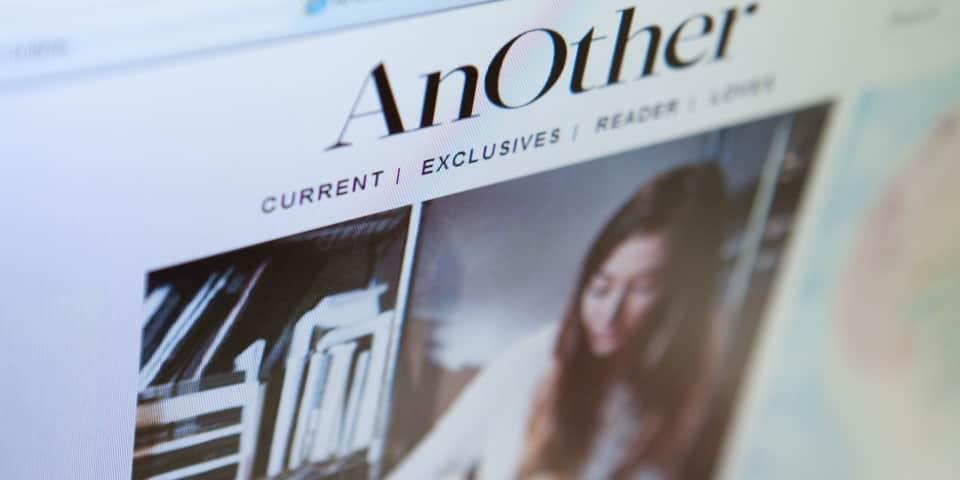 Social media: online magazines