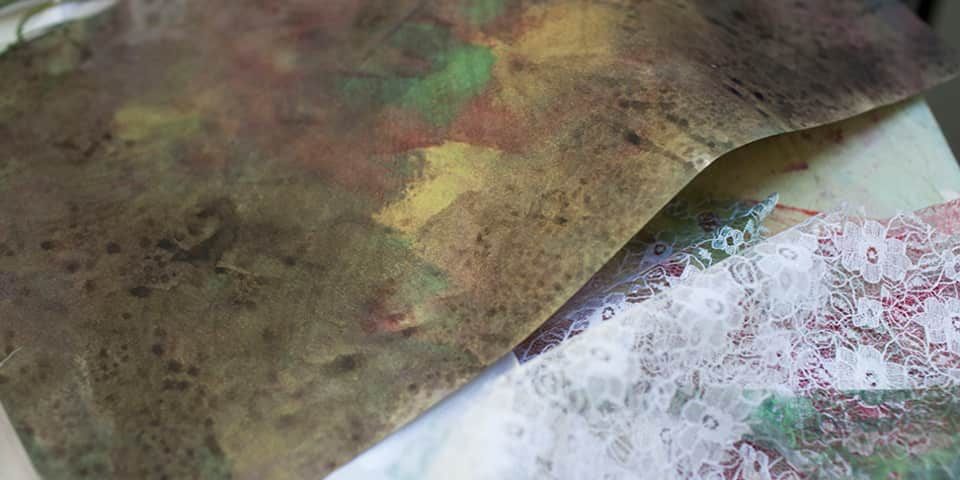 Experimental Textile Printing