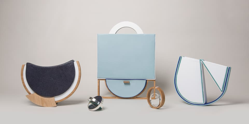 Work by BA (Hons) Cordwainers Fashion Bags and Accessories student Aleksandra Klimek