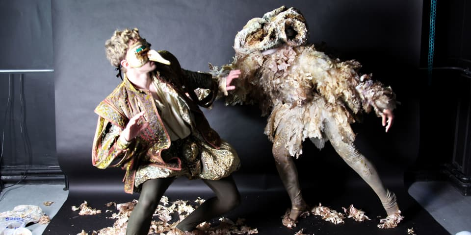Work by BA (Hons) Costume For Performance student Amy Hickie