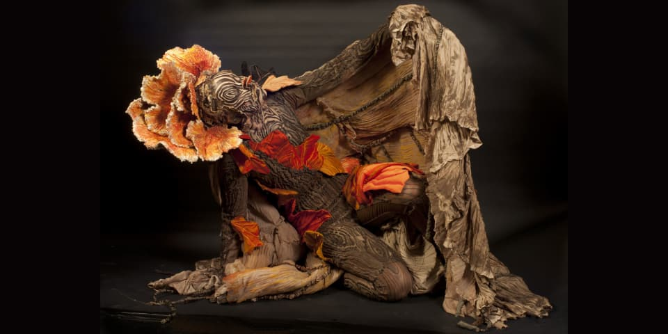 Work by BA (Hons) Costume For Performance student Grace Brooks