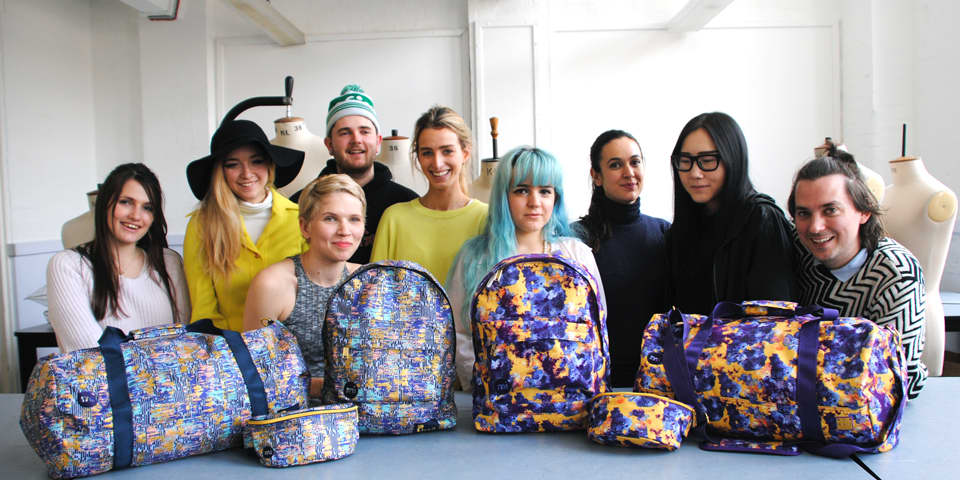 Students with Mi-Pack bags