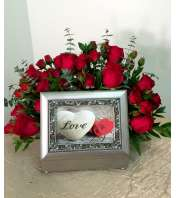 Red Rose Music Box