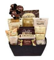 Chocolate delight gift basket