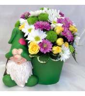 Garden Gnome Green