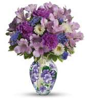 The Lovely Violet Bouquet
