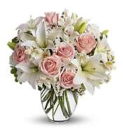 PINK & WHITE FLOWERS