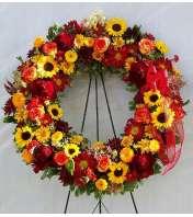 Funeral Wreath - Autumn