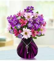 Lavender Dreams™ with Key Necklace