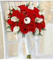 Holiday Bridal Bouquet