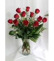 Breathtaking Longstemmed Red Roses