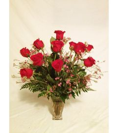 A Classic Bloom Red Roses