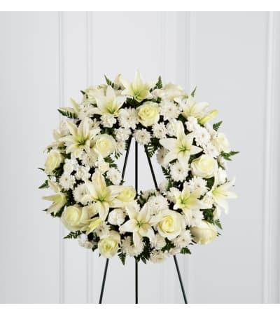 The FTD® Treasured Tribute™ Wreath