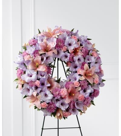 The FTD® Sleep in Peace™ Wreath