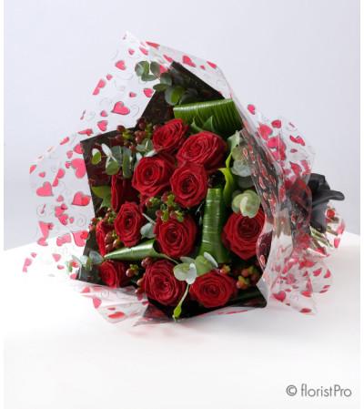 Rose Classique - Handtie bouquet