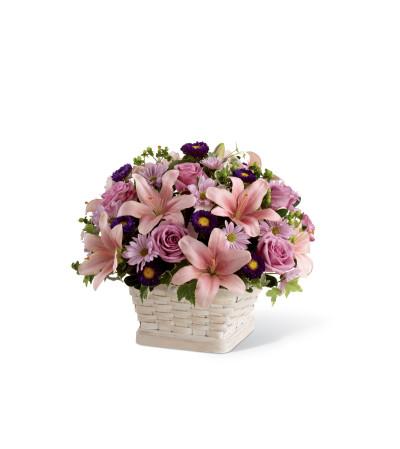 The FTD® Loving Sympathy™ Basket