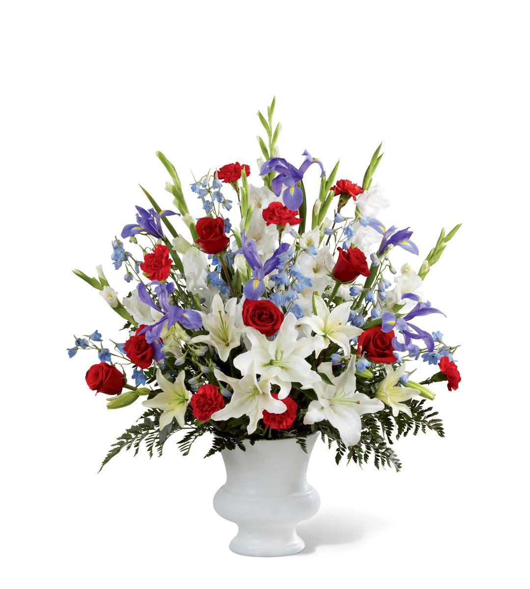 The FTD Cherished Farewell™ Arrangement Urbandale IA Florist