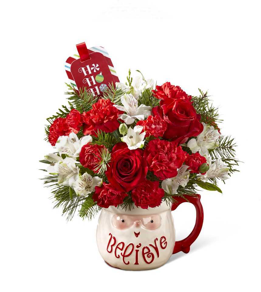 The ftd believe mug bouquet by hallmark bowmanville Hallmark flowers