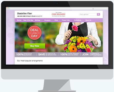United Florist Network - Theme