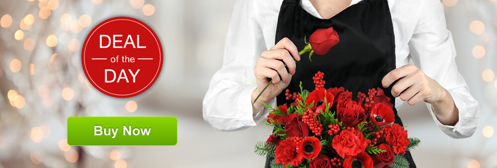 Crystal Florist Deal of the Day